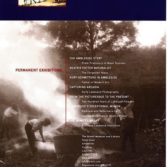Armitt Museum Ambleside Armitt Collection Poster 2011 Designed by Russell Mills & Michael Webster