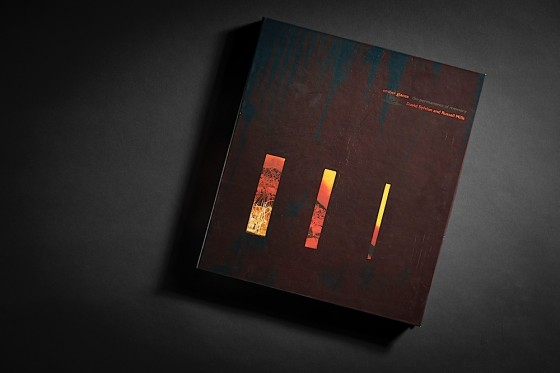David Sylvian and Russell Mills, Ember Glance: The Permanence of Memory Limited edition boxed book with CD: Outer box cover 2 Virgin Records, 1990 Art and design by Mills, co-design by Dave Coppenhall