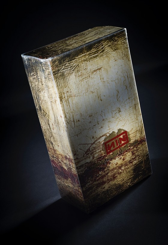 Nine Inch Nails, Closure 2 x video box set Nothing Records/Interscope, 1997 Art by Russell Mills; design by Gary Talpas