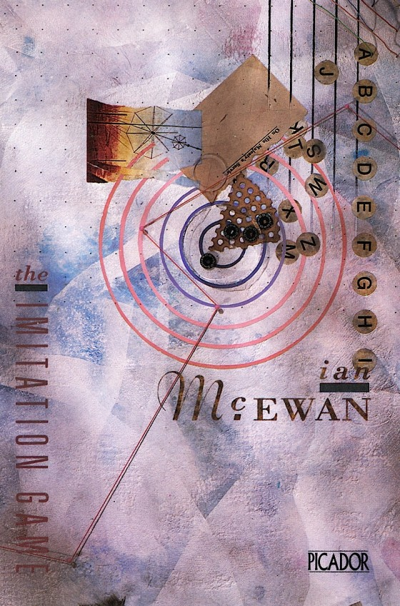 Ian McEwan, The Imitation Game Picador Books 1984 Design by Vaughan Oliver (V23) Image by Russell Mills