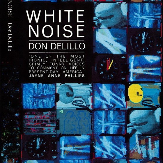 White Noise Book Cover : Homebook covers home