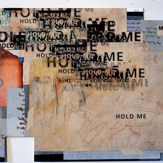 Hold Me Film Credits Collages Designed by Russell Mills and Michael Webster