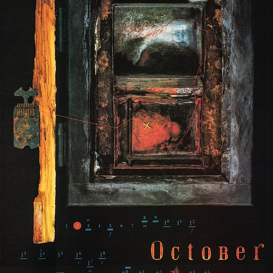4AD Records, 1990 Art by Russell Mills; design by Vaughan Oliver V23