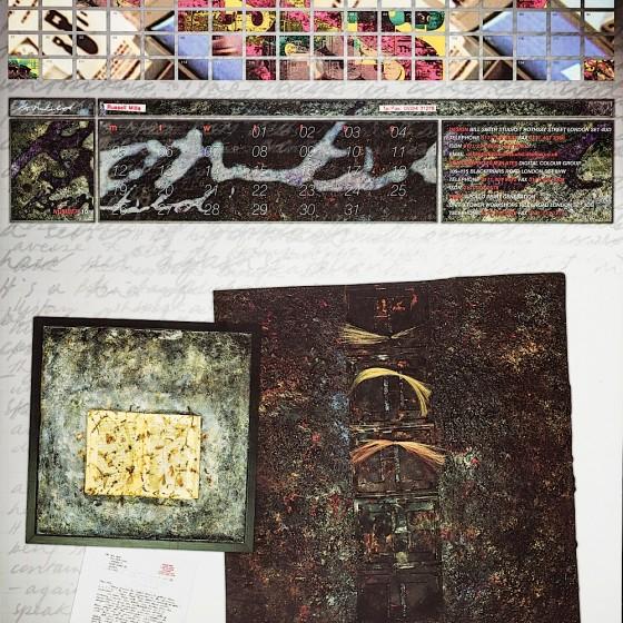Bill Smith Studio calendar 1994-95 Art by Russell Mills; design by Bill Smith Studio