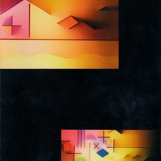Brian Eno, Works Constructed With Sound and Light Opal Music: installation Catalogue (1986)