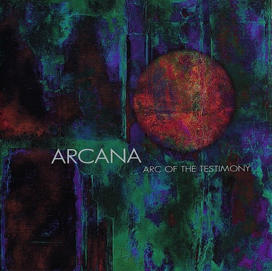 Bill Laswell and Tony Williams Arcana: Arc of The Testimony Island Records, USA 1997 Art and design by Mills co-design by Michael Webster