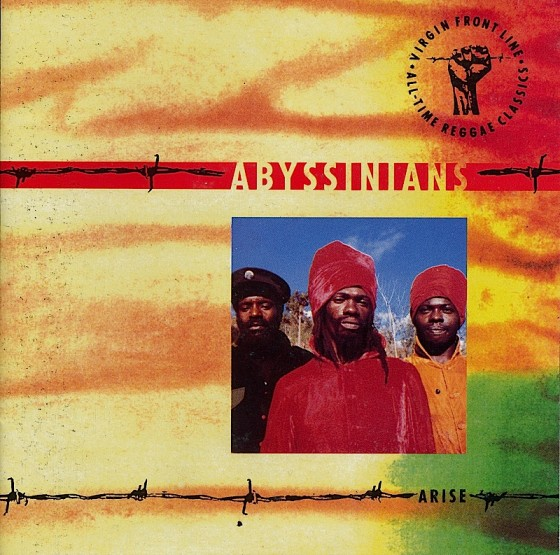 Beyond The Frontline 10: Abyssinians: Arise Virgin Records 1990 Art & design by Mills co-design by Dave Coppenhall