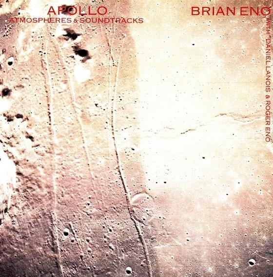 Brian Eno, Daniel Lanois and Roger Eno Apollo: Atmospheres & SoundtracksVirgin Records 1983 Art and design by Mills