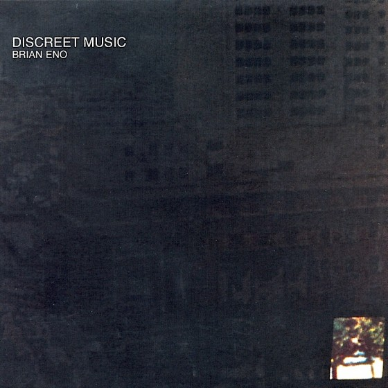 Brian Eno Discreet Music (re-mastered) Virgin Records 2004 Re-design by Mills