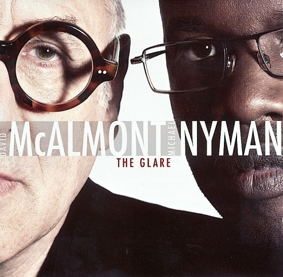 Michael Nyman and David McAlmont The GlareMN Records 2009Photography by Rankin Design by Mills co-design by Michael Webster