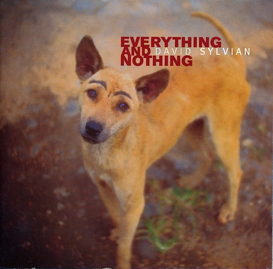 David Sylvian Everything and Nothing Virgin Records 2000 Photograph by Shinya Fujiwara Art & design by Mills Co-design by Michael Webster