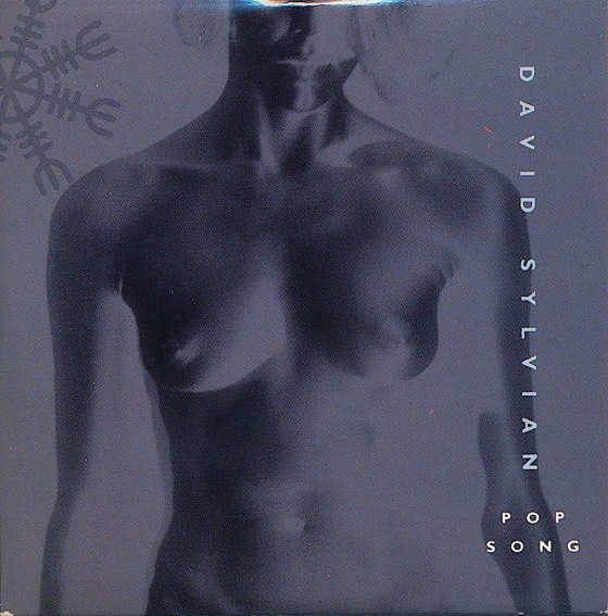 """David Sylvian, Pop Song (12'"""" single)Virgin Records 1989Photography by David Buckland Art and design by Mills co-design by Dave Coppenhall"""