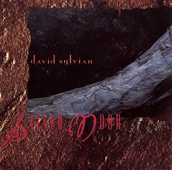 """David Sylvian Silver Moon (7"""" single) Virgin Records 1986 Art and design by Mills co-design by Dave Coppenhall"""