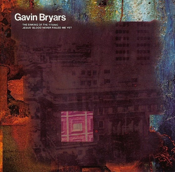 Gavin Bryars The Sinking Of The Titanic (re-mastered) Virgin/Venture 1998 Art and design by Mills co-design by Michael Webster