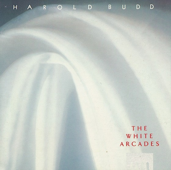Harold Budd, The White ArcadesLand Records 1989 Photography by David Buckland Art and design by Mills co-design by Dave Coppenhall