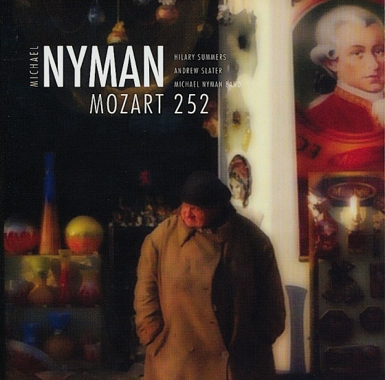 Michael Nyman Mozart 252MN Records 2008Photography by Michael Nyman Design by Mills co-design by Michael Webster