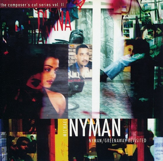 Michael Nyman Nyman/Greenaway RevisitedMN Records 2005Design by Mills co-design by Michael Webster