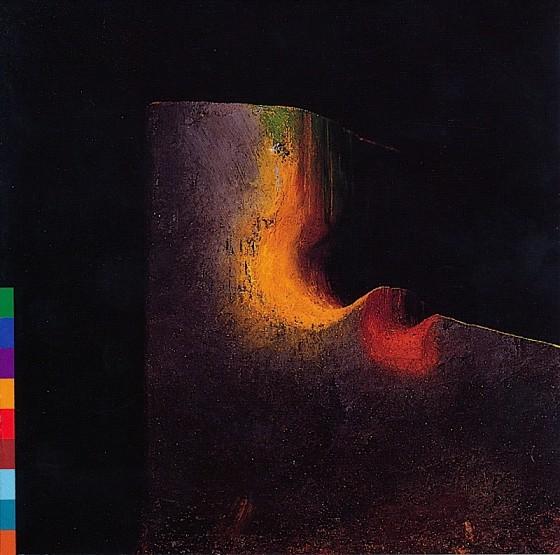 Nusrat Fateh Ali Khan Devotional Songs Real World Records 1988 Design by Malcolm Garrett images by Mills