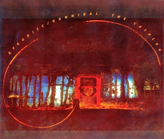 Rykodisc Catalogue Rykodisc Records, USA, Image by Mills