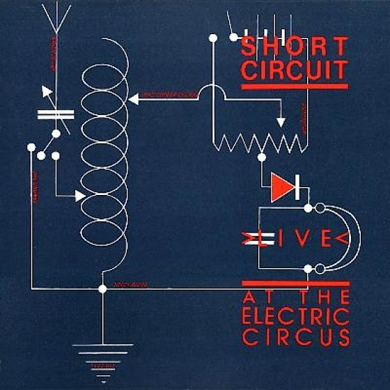 """Various, Short Circuit: Live At The Electric Circus (10"""") Virgin Records, 1978 Art and design by Mills"""