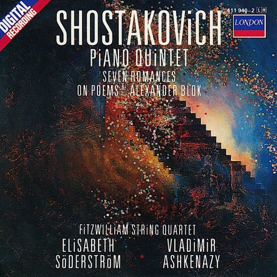 Artist: Shostakovich Title: Piano Quintet Label: Decca Records Date:1992 Art and design by Russell Mills