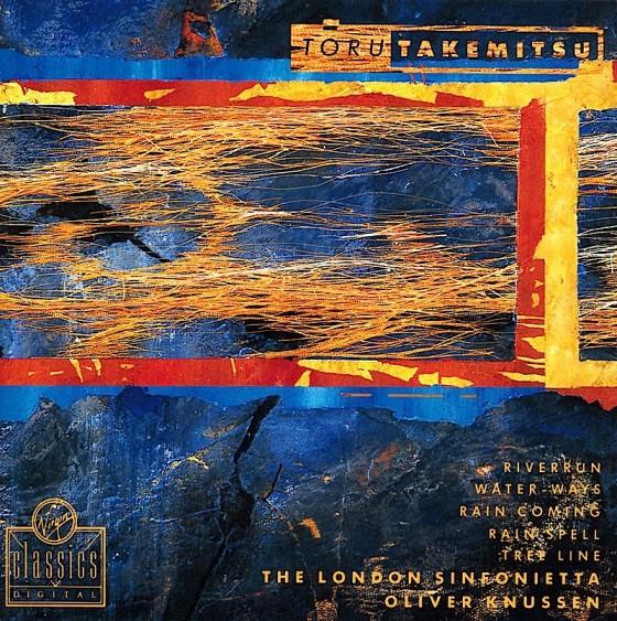 Toru Takemitsu, RiverrunVirgin Classics, 1991 Art and design by Russell Mills