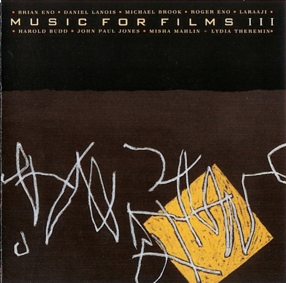 Various artists, Music for Films IIILand Records, 1988 Art and design by Mills, image by Brian Eno