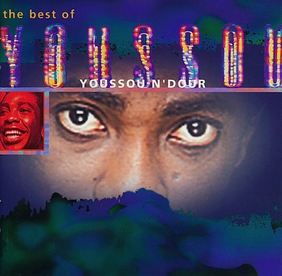 Artist: Youssou N'Dour, Title: The Best of Youssou N'Dour, Label: Virgin Records, Date: 1994, Art and design by Russell Mills, Co-design by Michael Webster