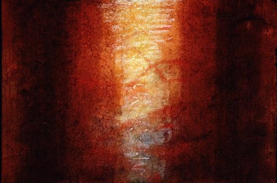 Passage 1990 Watercolour, chalk on rag papper 21 x 29.7 cm