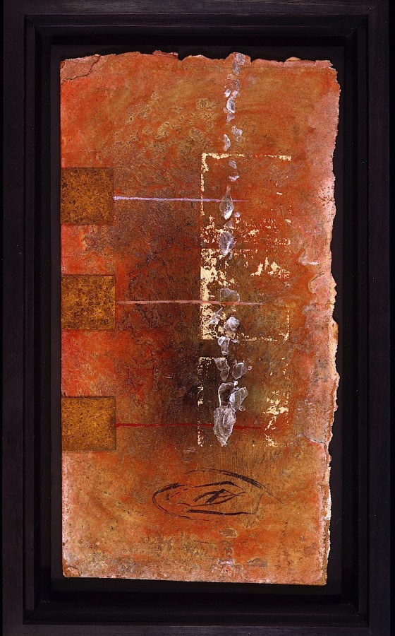 Within Without 1989-90 Oils, acrylics, plaster on board 36 x 21.5 cm Private collection USA