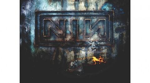 Feminine Silver Nine Inch Nails Logo