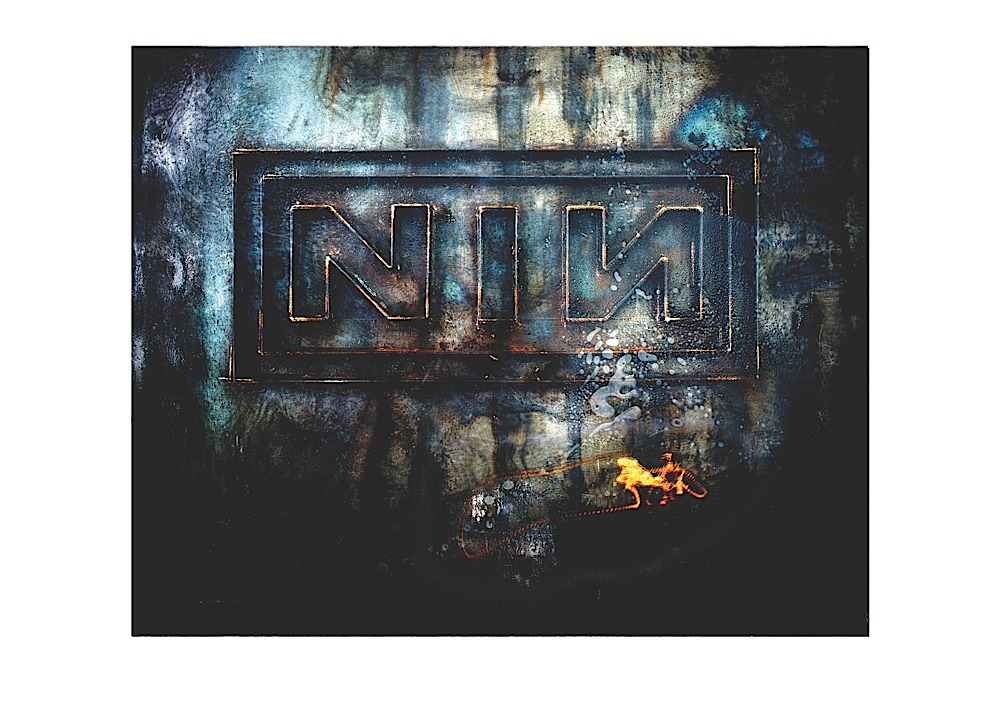 Feminine Silver Nine Inch Nails Logo